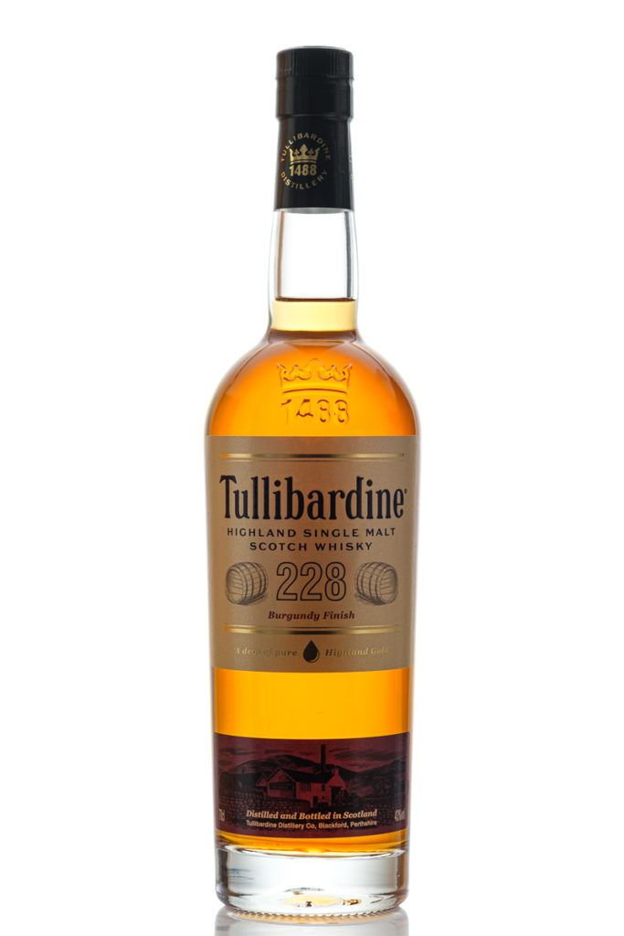 Tullibardine 228 Burdundy Finish