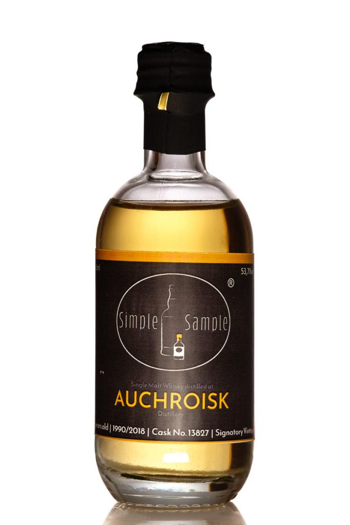 Auchroisk 1990 - 2018 Cask 13827 - Signatory